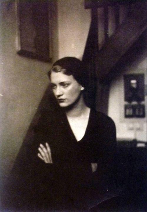 Lee Miller in Man Ray's rue champagne- premiere studio, 1929