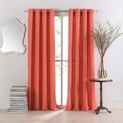Anthology Sienna Window Curtain Panel - BedBathandBeyond.com $20-45 Could use this my the bedroom but in white or teal