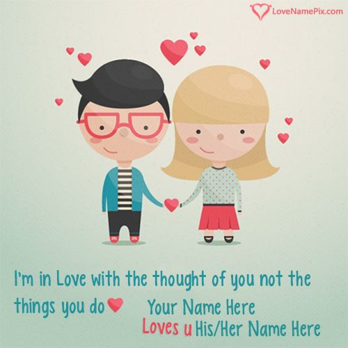 Write sweet couples name on Cute Images Of Love Couples photos with his her name and send these sweet love wishes to the person you love most. Also Surprise your loved ones with these cute images.