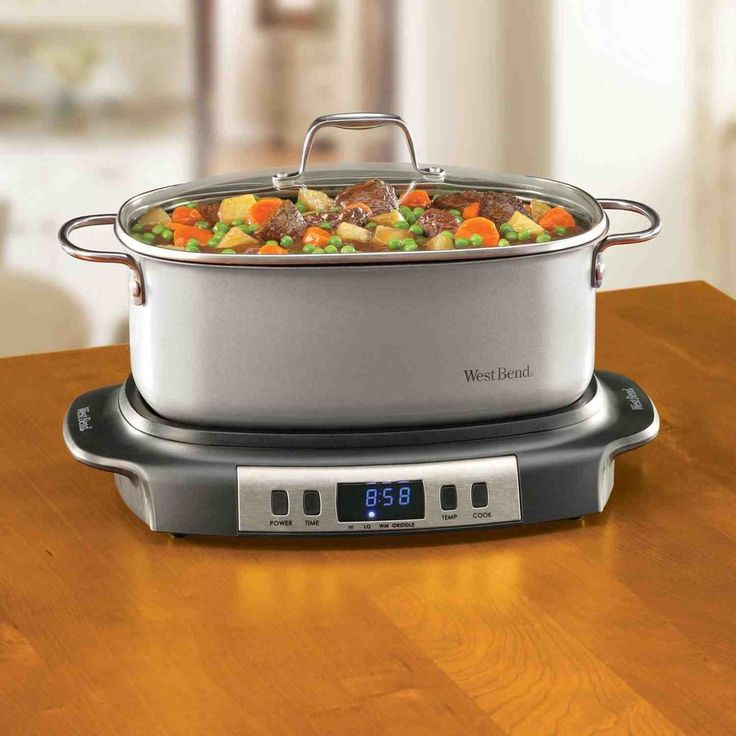 West Bend Versatility Slow-Cooker and Griddle #WestBend