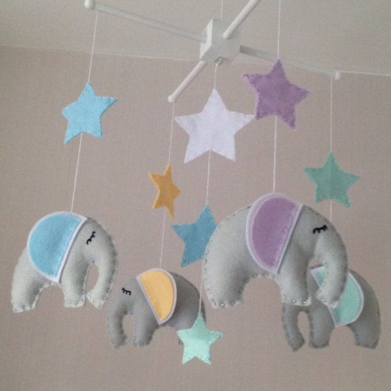 best 25 elephant mobile ideas on pinterest baby room felt mobile and origami mobile. Black Bedroom Furniture Sets. Home Design Ideas