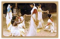 V2G-Nair-Various forms of Thiruvathira dance