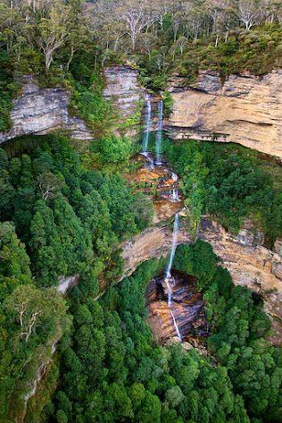 Katoomba Falls - Blue Mountains - Australia