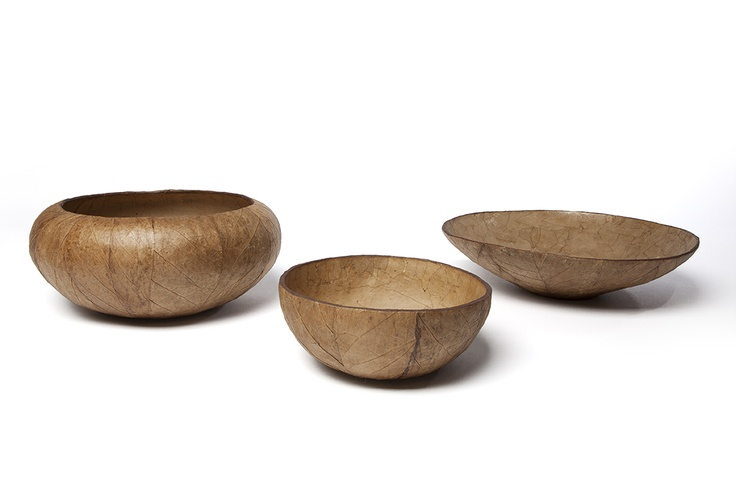 Tobacco Bowls designed by Canadian designer Patty Johnson & produced by Carnival Jakmel