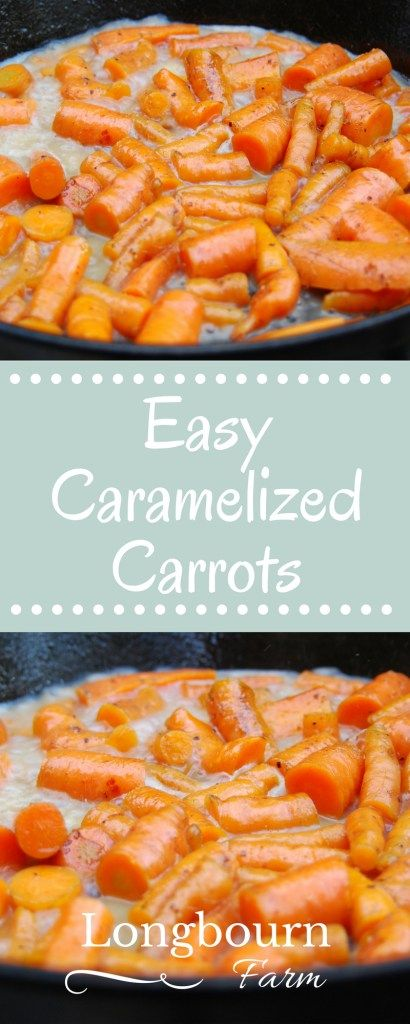 These easy caramelized carrots are made on the stovetop with a simple butter, honey and thyme recipe that is perfect for everyday, or the holidays!
