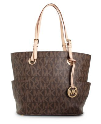 MICHAEL Michael Kors Handbag, Signature Tote - Tote Bags - Handbags & Accessories - Macy's
