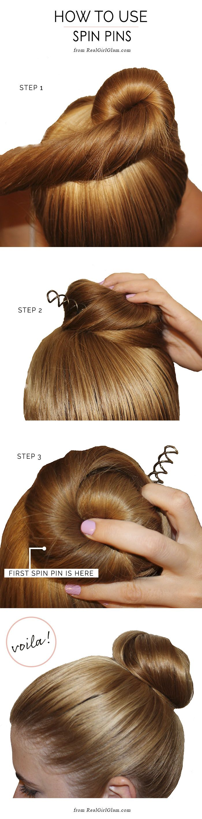 How to Use Spin Pins - Real Girl Glam