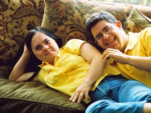 Monica & David is a really neat documentary about two adults with Down syndrome who get married. It's a great way to get to know people with Down syndrome and find out about what life is really like for them & their parents.