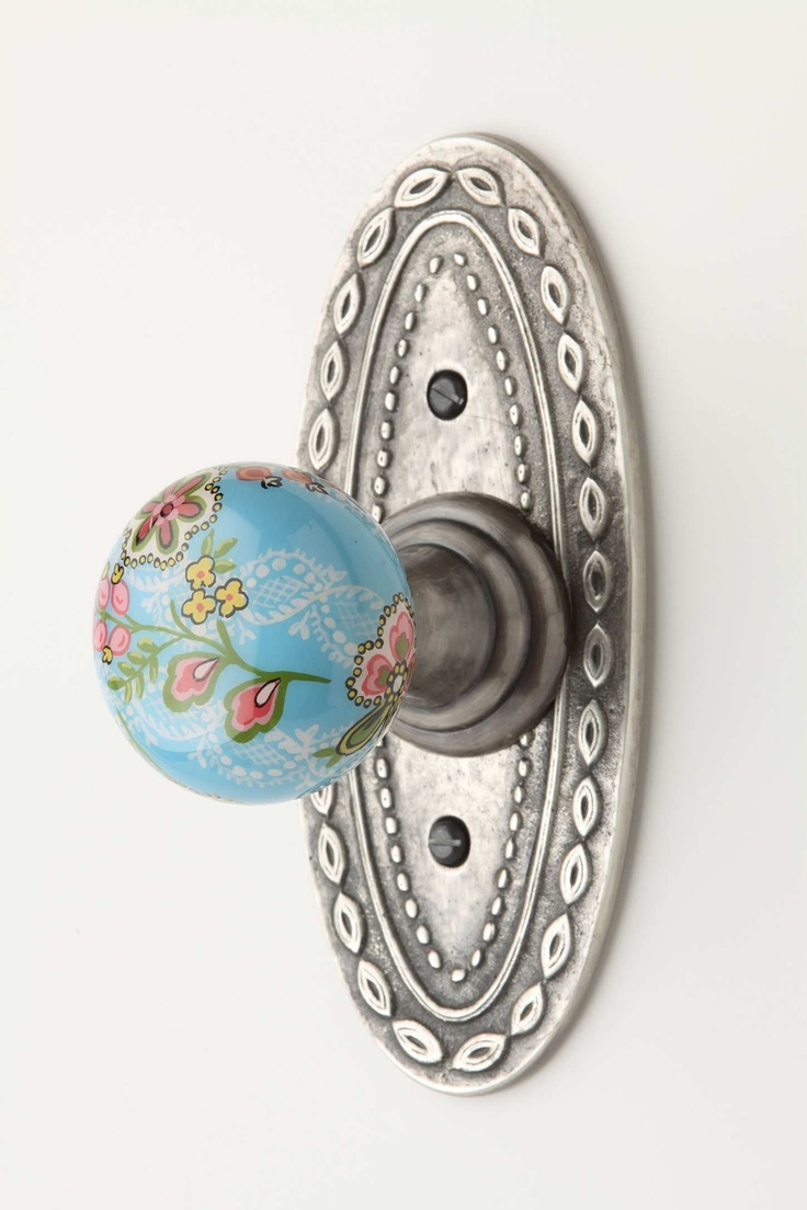 floral doorknob that at first quick glance I thought was supposed to be a…