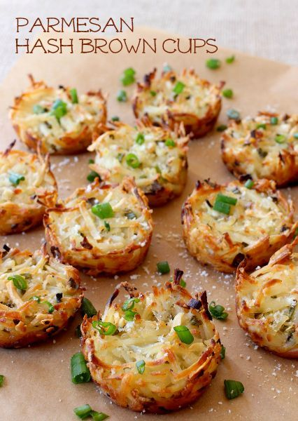 Use store bought frozen hash browns to make these has brown cups easy!