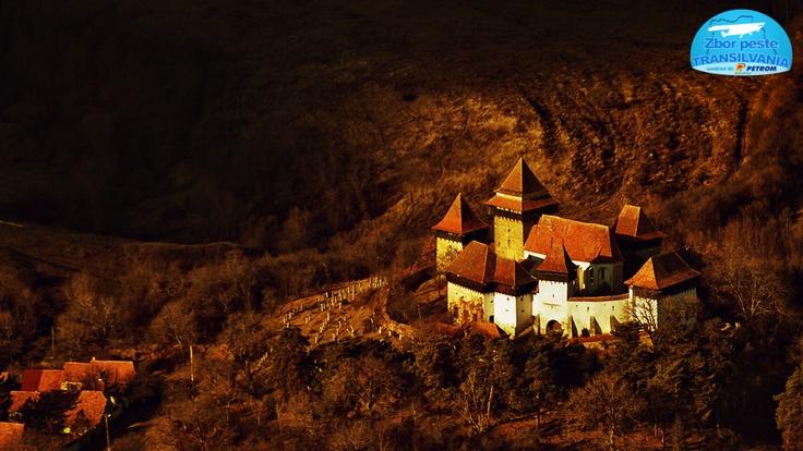 Fortified church in Viscri http://www.zborpestetransilvania.ro/biserica-fortificata-din-viscri/