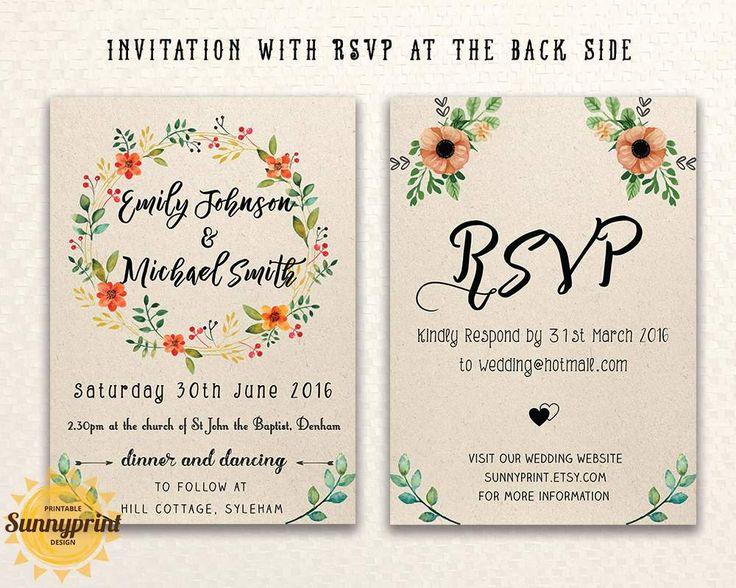 25 best ideas about Online Wedding Invitation – Invitation Templates Free Online