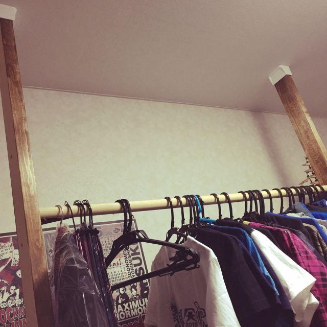 DIY/ディアウォール/壁/天井のインテリア実例 - 2015-07-18 21:54:40   RoomClip(ルームクリップ)