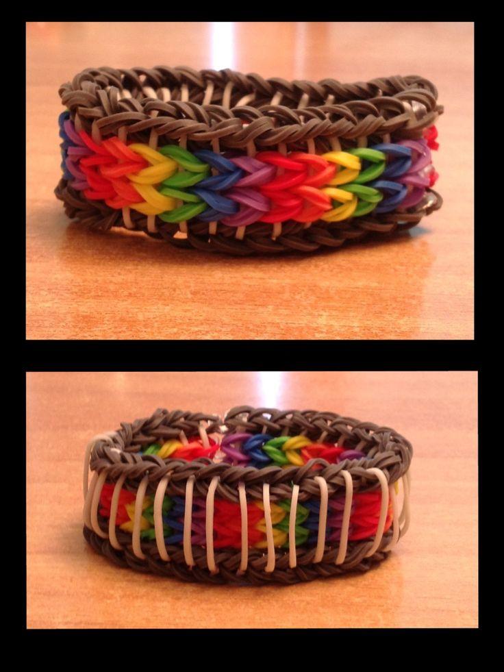 34 Best Images About Rainbow Loom Bracelets On Pinterest