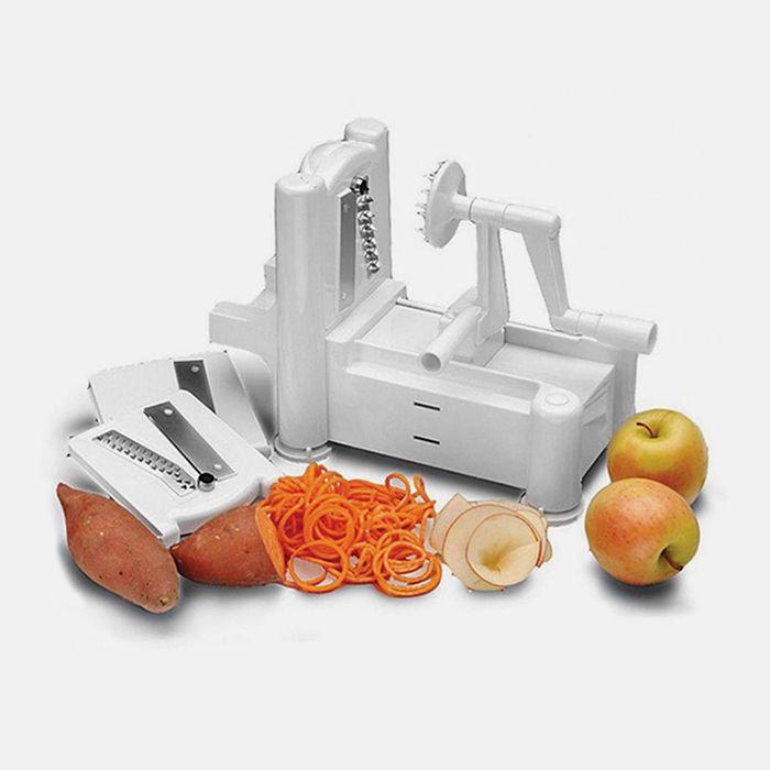 Rimon Tri-Blade Spiral Vegetable Slicer - $14.99. https://www.tanga.com/deals/43aa5a77ba75/rimon-tri-blade-spiral-vegetable-slicer
