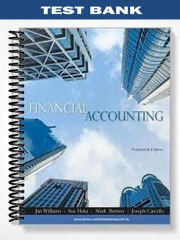 Test Bank Financial Accounting 14th Edition Williams  at https://fratstock.eu/Test-Bank-Financial-Accounting-14th-Edition-Williams