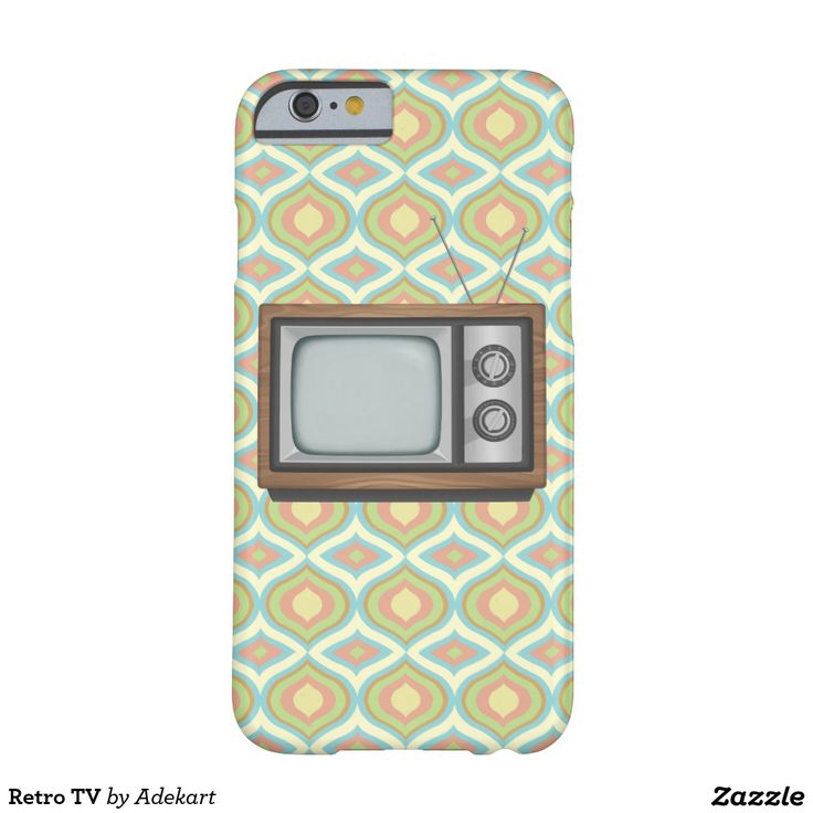 Retro TV Barely There iPhone 6 Case on a 1970s wallpaper background. If you love vintage technology, this is the product for you!  http://www.zazzle.com/retro_tv_barely_there_iphone_6_case-179018593806744172?CMPN=shareicon&lang=en&social=true&rf=238980827295438691