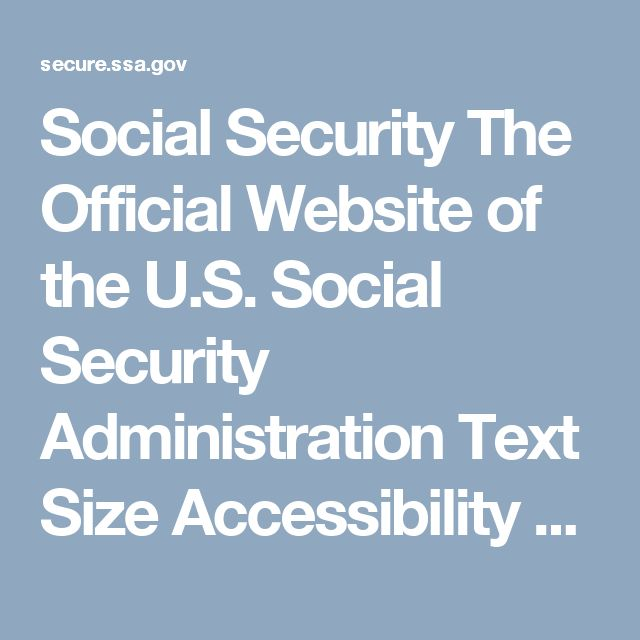 Social Security The Official Website of the U.S. Social Security Administration  Text Size  Accessibility Help Social Security Office Locator  Find the Office for this ZIP Code.  ZIP:  Zip Code Look Up   Using our online services, you can: Apply for most types of benefits Estimate your future benefits Do so much more To learn more, visit What You Can Do Online.   Phone Number Toll-Free: 1-800-772-1213  We Want to Make Sure You Go to the Correct Office You must visit a Card Center if: You…
