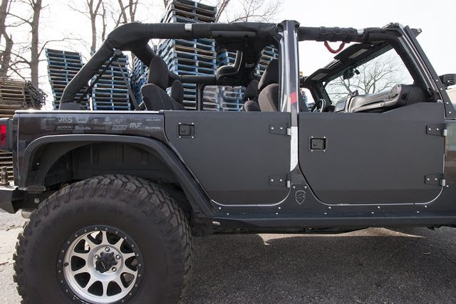 Jeep JK half doors