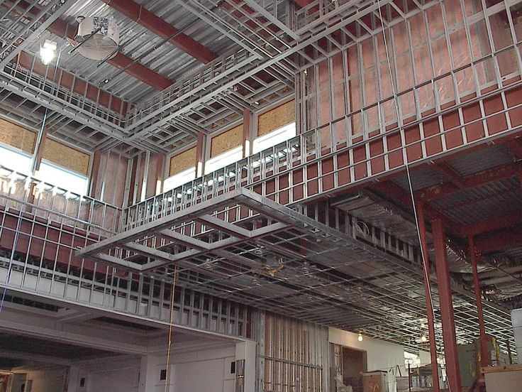 metal stud construction | STRUCTURAL & METAL STUD FRAMING