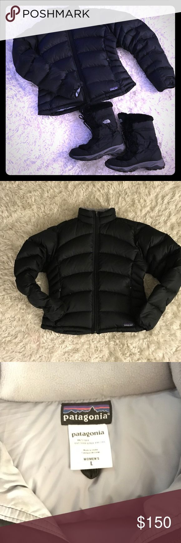 💥1 Day Sale💥 Patagonia Down Filled Puffer Coat This Patagonia Puffer Coat is in excellent condition!  It is perfect for cold weather!  What a great piece for any winter activity or for running errands?  85% down -filled, very warm and cozy! Patagonia Jackets & Coats Puffers