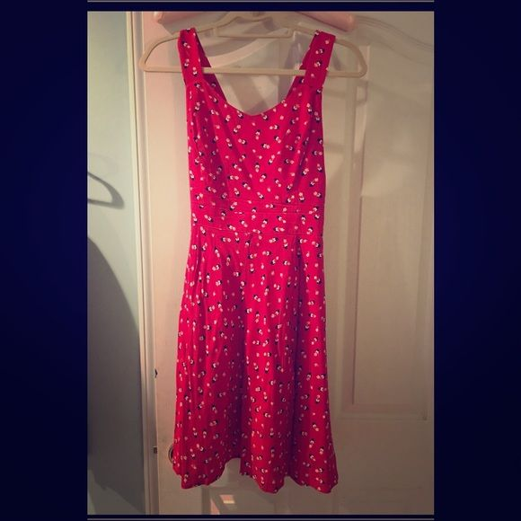 Lauren Conrad Mickey Mouse Dress Lauren Conrad Mickey Mouse sundress. Size 14 worn once. From a smoke free home. Lauren Conrad Dresses Midi
