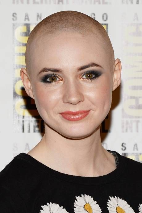 The bald truth: Karen Gillan reveals shaved head for Guardians of ...