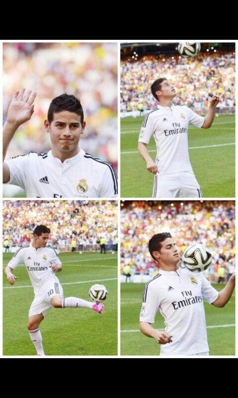 James Rodriguez Real Madrid El 10 del Real Madrid