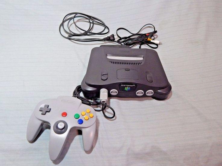 Original Nintendo 64 N64 Console NUS-001 #Nintendo