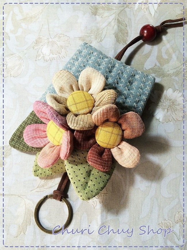 Churi Chuly Shop: Flower KeyCover Design By Churi Chuly Shop