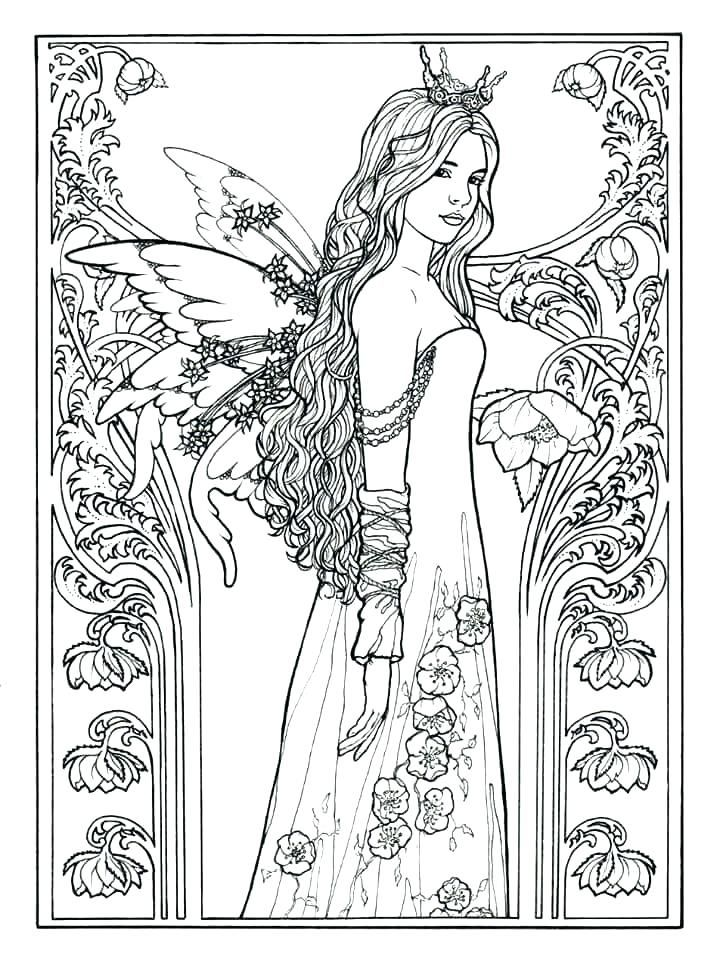 Fairies Coloring Pages Princess Fairy Coloring Pages Fairy Princess By Carol More A Coloring Fa Fairy Coloring Pages Mermaid Coloring Pages Fairy Coloring Book
