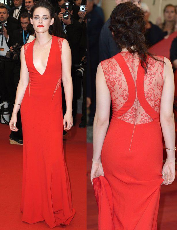 Look vestido rojo noche