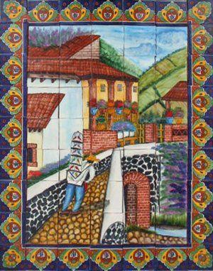 Decorative Wall Tile Murals Magnificent 175 Best Decorative Tile Murals Images On Pinterest  Decorative Decorating Inspiration
