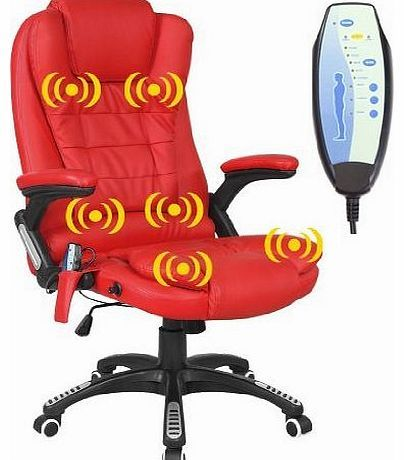 More4Homes RIO RED RECLINING MASSAGE LEATHER OFFICE CHAIR w 6 POINT MASSAGE HIGH BACK COMPUTER DESK 360 SWIVEL No description (Barcode EAN = 5055744810663). http://www.comparestoreprices.co.uk/leather-office-chairs/more4homes-rio-red-reclining-massage-leather-office-chair-w-6-point-massage-high-back-computer-desk-360-swivel.asp