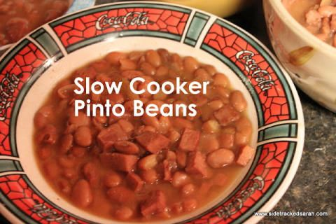 Pinto beans, Pinto bean recipes and Best slow cooker on Pinterest