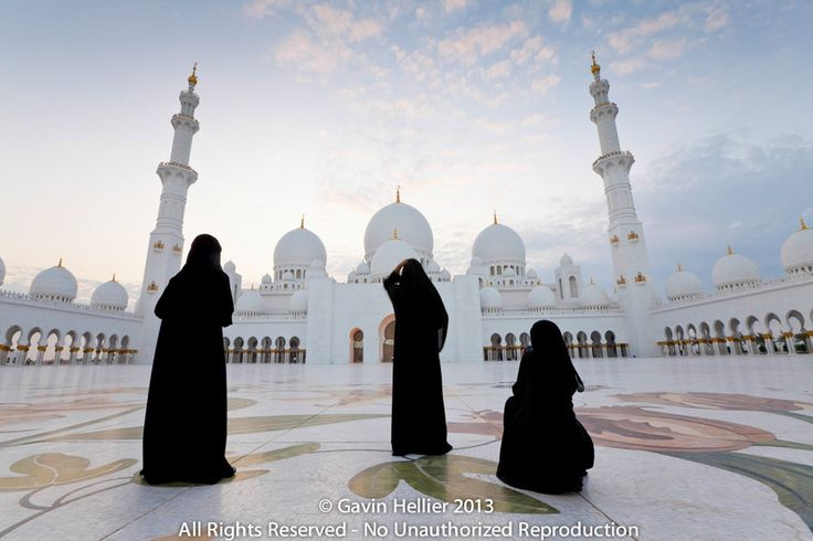 "Photo ""Sheikh Zayed  Grand Mosque, Abu Dhabi, United Arab Emirates, Middle East "" by Gavin Hellier"