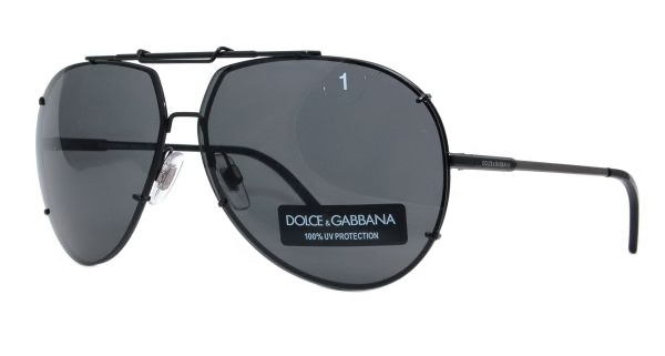 If youre in search of some simple, straightforward aviator sunglasses which have a cool, modern look, the Dolce & Gabbana DG 2075 sunglasses may fill your need.  These sunglasses have simple black frames and gray lenses with an interesting angular design near the nose bridge.  These sunglasses will look cool with any fashion and will be suited to every situation.  http://www.topfashionshades.com/dg2075-jan87-6313135.html  #DG2075