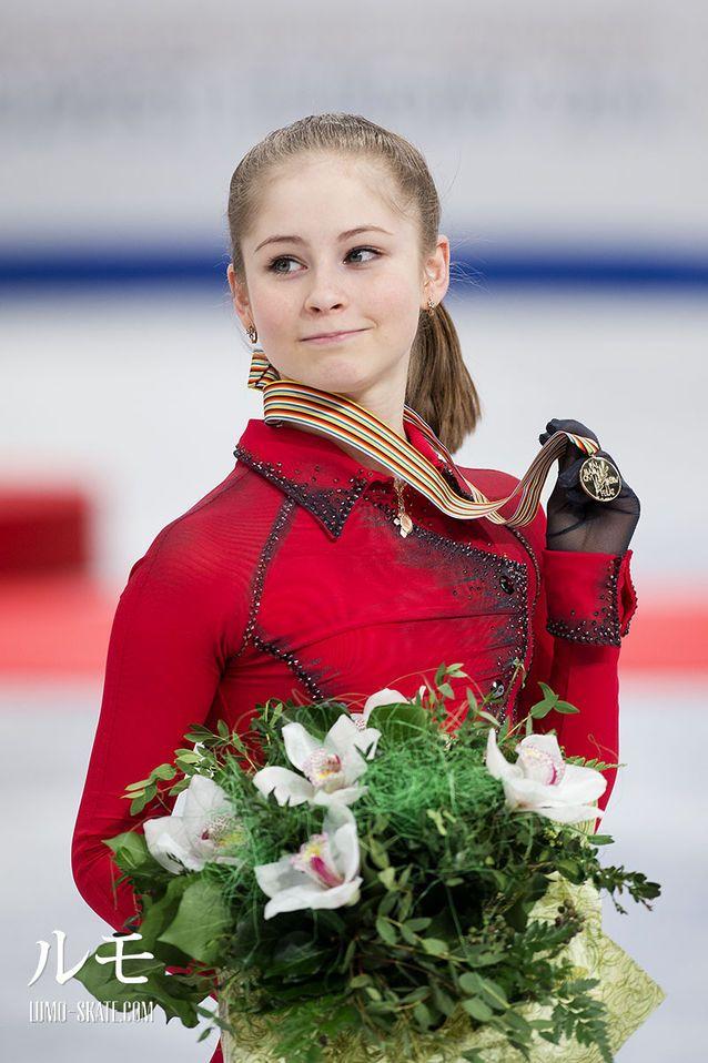Yulia Lipnitskaya Gold Medal 17 Best images about R...