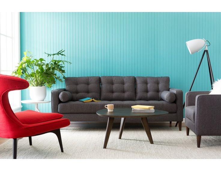 Romeo - 3-seater sofa - Grey