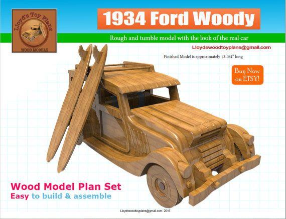 Ford Woody 1934 Plan set