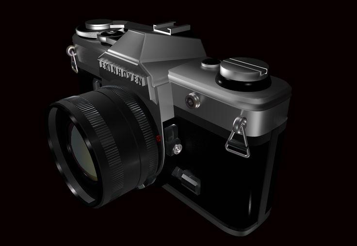 cinema 4D canon AE-1