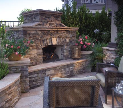 62 best outdoor fireplace/patio images on pinterest | outdoor ... - Outdoor Patio Ideas With Fireplace
