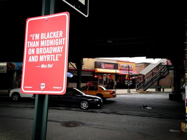 *Rap Quotes, Rap Lyrics that Mention NYC Locations Posted On Location as Street Signs - https://laughingsquid.com/rap-quotes-rap-lyrics-that-mention-nyc-locations-posted-on-location-as-street-signs/?utm_source=feedburner_medium=feed_campaign=Feed%3A+laughingsquid+%28Laughing+Squid%29