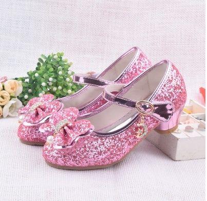 Wish | Children Princess Sandals Girls Wedding Shoes High Heels Dress Shoes Party Shoes