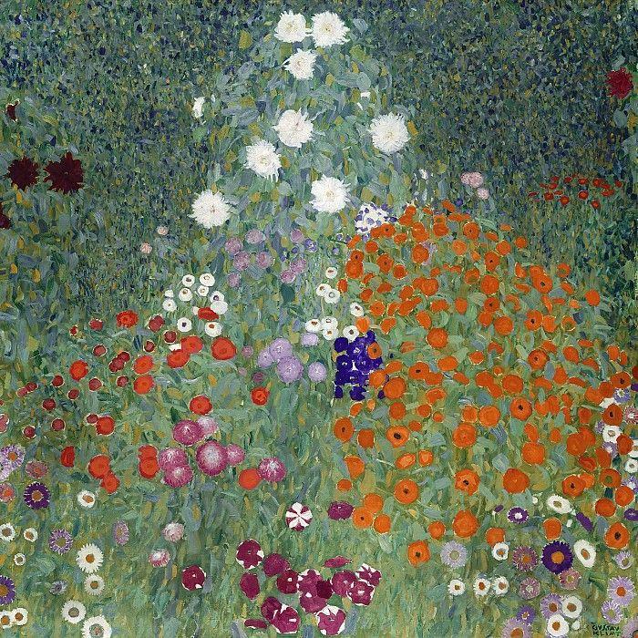 Цветочный сад. Частная коллекция 1905-07