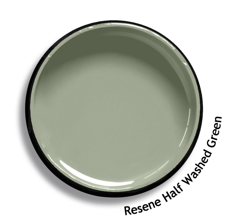 Resene Half Washed Green Is A Weathered Softened Grey Green From The Resene Karen Walker Paints