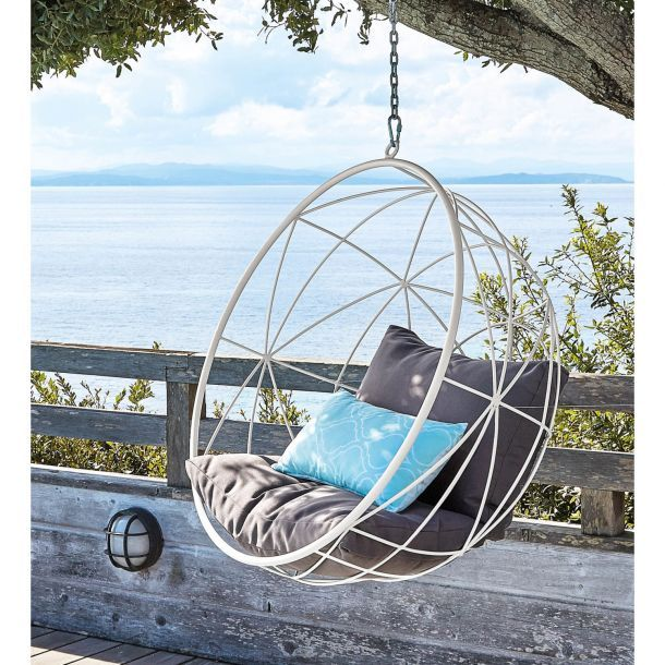 Outdoor Hanging Bubble Chair Gray Bubble Chair Hanging Chair