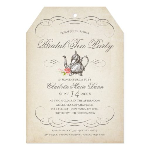 17 Best images about Bridal Shower Invitations – When to Send Wedding Shower Invitations