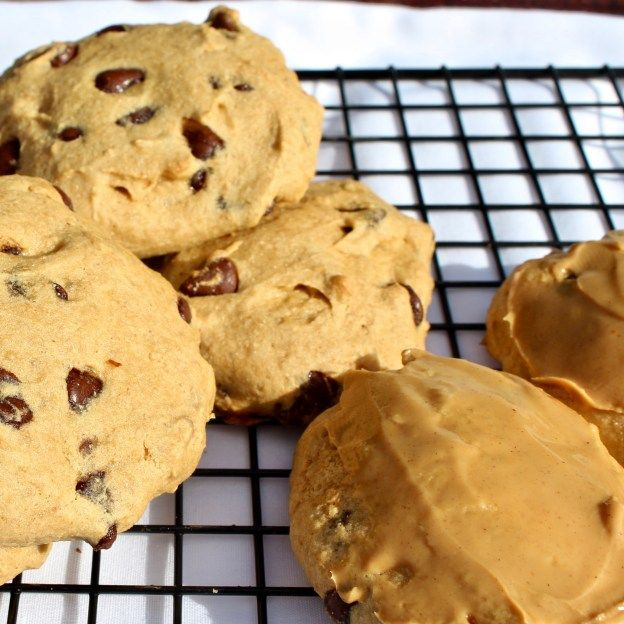 Nearly No Fat Chocolate Chip Cookies – Gluten Free option –