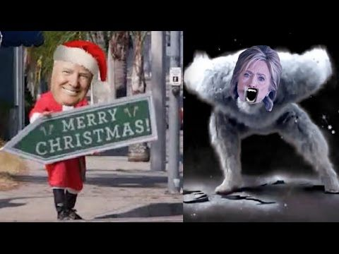 """Hilarious Trump Christmas Parody """"It's The Most Wonderful Time in 8 Years"""""""